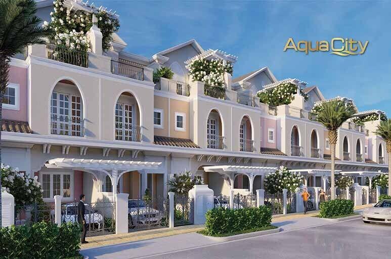 Tham quan nhà mẫu Aqua City